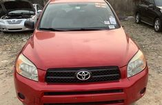 Foreign Used Toyota RAV4 2007 Model Red