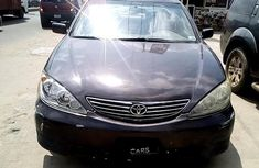 Nigeria Used Toyota Camry 2002 Model Brown