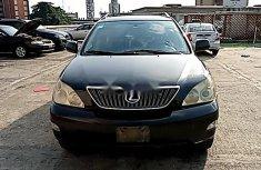 Nigeria Used Lexus RX 2004 Model Black