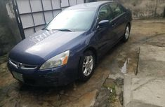 Nigeria Used Honda Accord 2007 Model Blue
