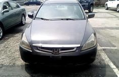 Nigeria Used Honda Accord 2004 Model Gray