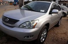 Nigeria Used Lexus RX 2009 Model Silver