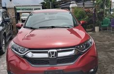 Foreign Used Honda CR-V V6 2018 Model Red