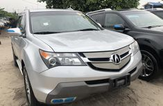 Acura MDX 2008 Model Foreign Used Silver for Sale