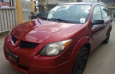 Foreign Used Pontiac Vibe 2004 Red Colour for Sale