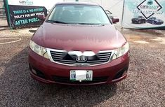 Nigeria Used Kia Optima 2009 Model Red