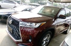 Foreign Used Toyota Highlander 2016 for sale