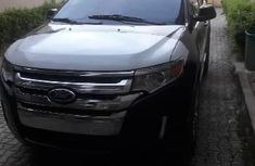 Foreign Used Ford Edge 2013 Model Black