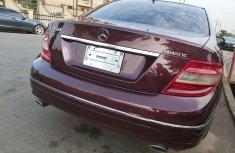 Nigeria Used Mercedes-Benz C350 2008 Model Red