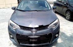 Nigeria Used Toyota Corolla 2014 Model Gray