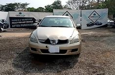 Nigeria Used Honda Accord 2007 Model Gold