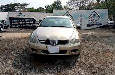 Nigeria Used Honda Accord 2007 Model Gold