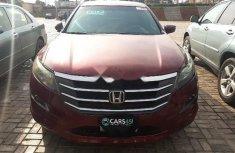 Nigeria Used Honda Accord CrossTour 2010 Model Red