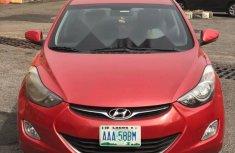 Nigeria Used Hyundai Elantra 2013 Model Red