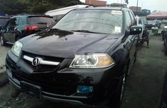 Foreign Used Acura MDX 2005 Model Black