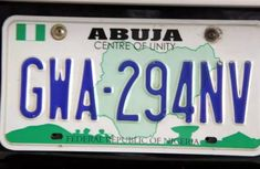 Enforcement of new vehicle number plate to take effect on January 1, 2020