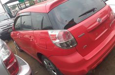 Foreign Used Toyota Matrix 2007 Model Red