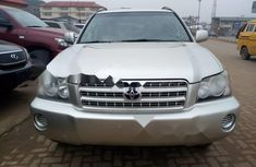 Foreign Used 2002 Toyota Highlander Automatic