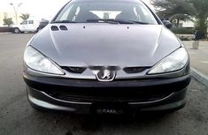 Nigeria Used Peugeot 206 2004 Model Gray