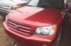 Foreign Used 2003 Toyota Highlander for sale in Lagos