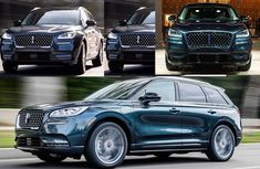 2021 Lincoln Corsair GT crossover SUV is debuted with Plug-In version