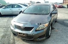 Nigeria Used Toyota Corolla 2008 Model Gray