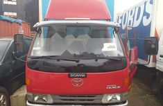 Foreign Used Toyota Dyna Manual 2002 Model White