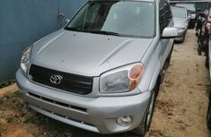 Toyota RAV4 2005 Model Foreign Used Silver for Sale