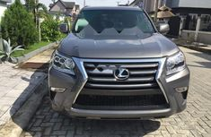 Foreign Used Lexus GX 2014 Model Gray