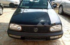 Tokunbo Volkswagen Golf 1996 Model Black
