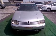 Nigeria Used Volkswagen Golf 1999 Model Silver