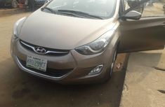Nigeria Used Hyundai Elantra 2012 Model Brown