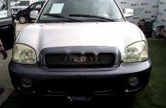 Nigeria Used Hyundai Santa Fe 2001 Model Silver