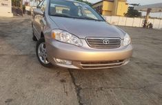 Foreign Used Toyota Corolla 2003 Model Beige