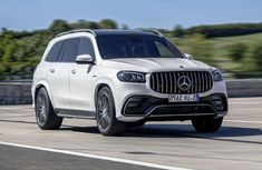 World premiere of 2021 Mercedes-AMG GLS 63 with its most powerful variant - the 4Matic SUV