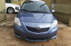 Foreign Used Toyota Yaris 2009 Model Blue