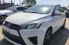 Foreign Used Toyota Yaris 2015 Model White