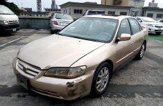 Neat Nigerian used Honda Accord 2001
