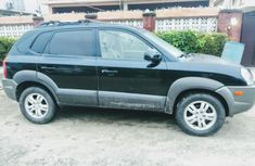 Nigeria Used Hyundai Tucson 2007 Model Black