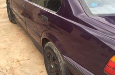 BMW 318i 2001 Model Nigeria Used Purple for Sale