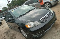 Used Toyota Corolla Foreign 2006 Model Black for Sale