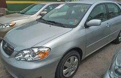 Used Toyota Corolla Foreign 2005 Model Silver for Sale
