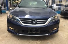 Foreign Used Honda Accord 2015 Model Blue