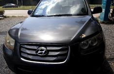 Nigeria Used Hyundai Santa Fe 2011 Model Gray