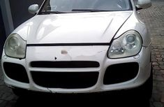 Nigeria Used Porsche Cayenne 2005 Model White