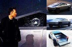 Elon Musk loses ₦276 billion after the failed test on Tesla Cybertruck's bulletproof windows