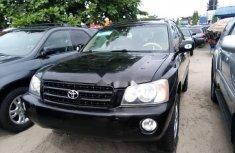 Foreign Used 2003 Toyota Highlander Petrol