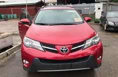Toyota Rav4 2014 Model Foreign Used Red Colour