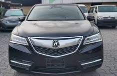 Acura MDX 2014 Model Foreign Used Black for Sale