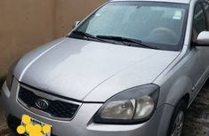 Kia Rio 2011 Model Nigeria Used Silver for Sale